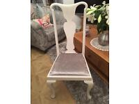 Solid queen Ann legs Bedroom / occasional chair