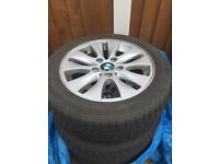 BMW 1 SERIES ALLOYS & CONTINENTSL TYRES GREAT CONDITION