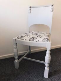 Single Ditsy Floral Office Chair