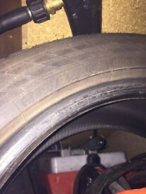 2 brand new tyres