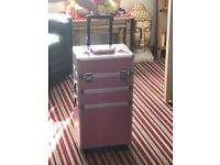 PINK MAKE UP TROLLEY