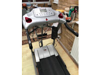 genesis treadmill power works but no display excellent cond just over a year old and hardly used