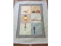 Mamas and Papas Nursery curtains, bedding etc for boys