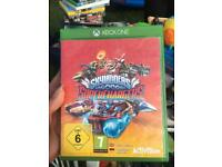 Sky landers Xbox one game and portal