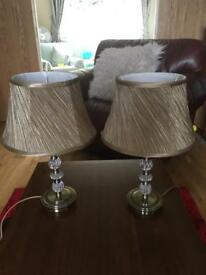 Table lamps X2