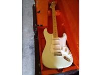 Fender custom shop 69 strat with tele neck abby handwound 69 pups unique with case and coa