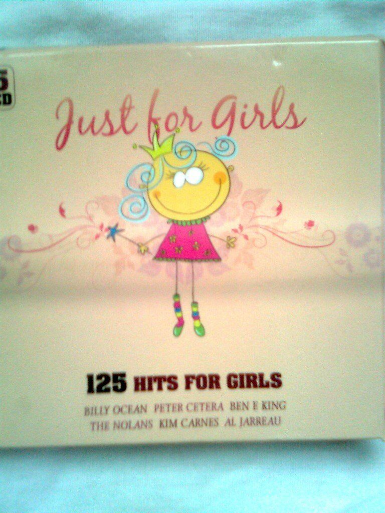 CD Just for Girls compilation album featuring Billy Ocean, Chic, Hot Chocolate, etc 5 CD's,