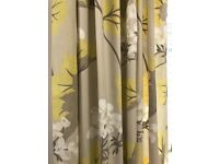 Floral Zbedroom lined curtains by LAURA ASHLEY