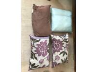 Four cushions all good quality