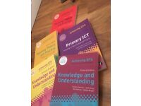 PGCE Primary QTS books ICT, Science and English