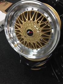"""Seat Arosa Cordoba Ibiza mii Leon Toledo brand new Alloy wheels 17"""" inch Volvo 340 480 alloys wheel"""
