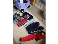 Boys sports,character clothes 3-4