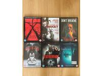 A Selection of Horror DVD Movies