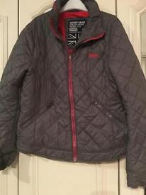 Superdry puffer jacket size L
