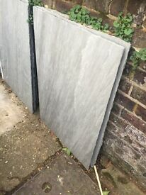 7.7sq m Kandla Grey Sandstone Paving Patio Slabs Surplus £75