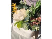 Summer garden artificial flowers