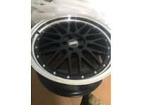 "BBS RS style brand new Alloy wheels 18"" inch 5x100 Toyota Celica avensis prius verso alloys wheel"