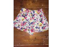 Topshop size 8 shorts