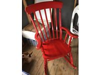 Rocking Chair *Red*