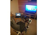 Playseat Evolution complete with G29 Steering Wheel ,Shifter