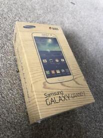 Samsung Galaxy Grand 2 Mobile Phone, Sealed, Black, Boxed, unlocked