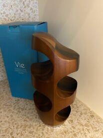 Stylish Nambe Vie Wine Rack (New and Boxed)