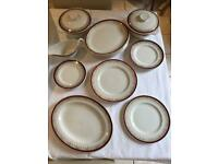 Myott England Royalty Dinner Set