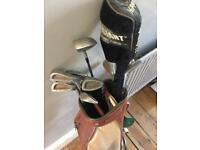 11 Piece Golf Club Set with Carrier Bag