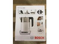 BOSCH kettle. Brand new in box. Unwanted gift £59.99 RRP