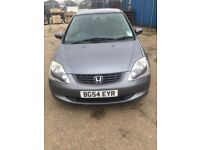 2004 Honda Civic Low mileage Diesel