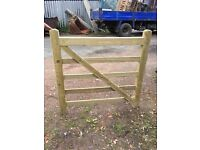 Timber gate, perfect condition, 4ft x 4ft