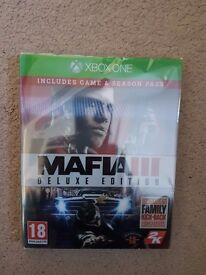 (XBOX ONE) Mafia 3 Deluxe Edition - Complete With Season Pass (Brand New Still Sealed)