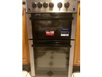 Beko gas cooker with grill and oven