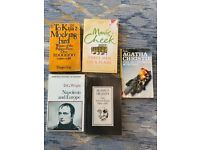 Books from A.Christie, S.Heaney, D.G.Wright, H.Lee, M.Cheek