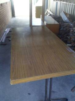 Sturdy Folding Table [One Only] Earlwood Canterbury Area Preview
