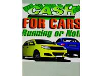 Any scrap car's or van's cash paid