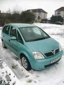 Vauxhall Meriva 1.6 16v / 11 Months MOT / Low Miles 69.000 miles