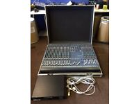 Soundcraft Ghost Mixing Desk & Power Console With Flight Case