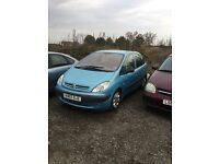 2002 CITREON Picasso Xsara nice clean good driving family car mot any trial welcome bargain px welc