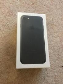 iPhone 7 32gb Matte Black. Brand new and sealed box