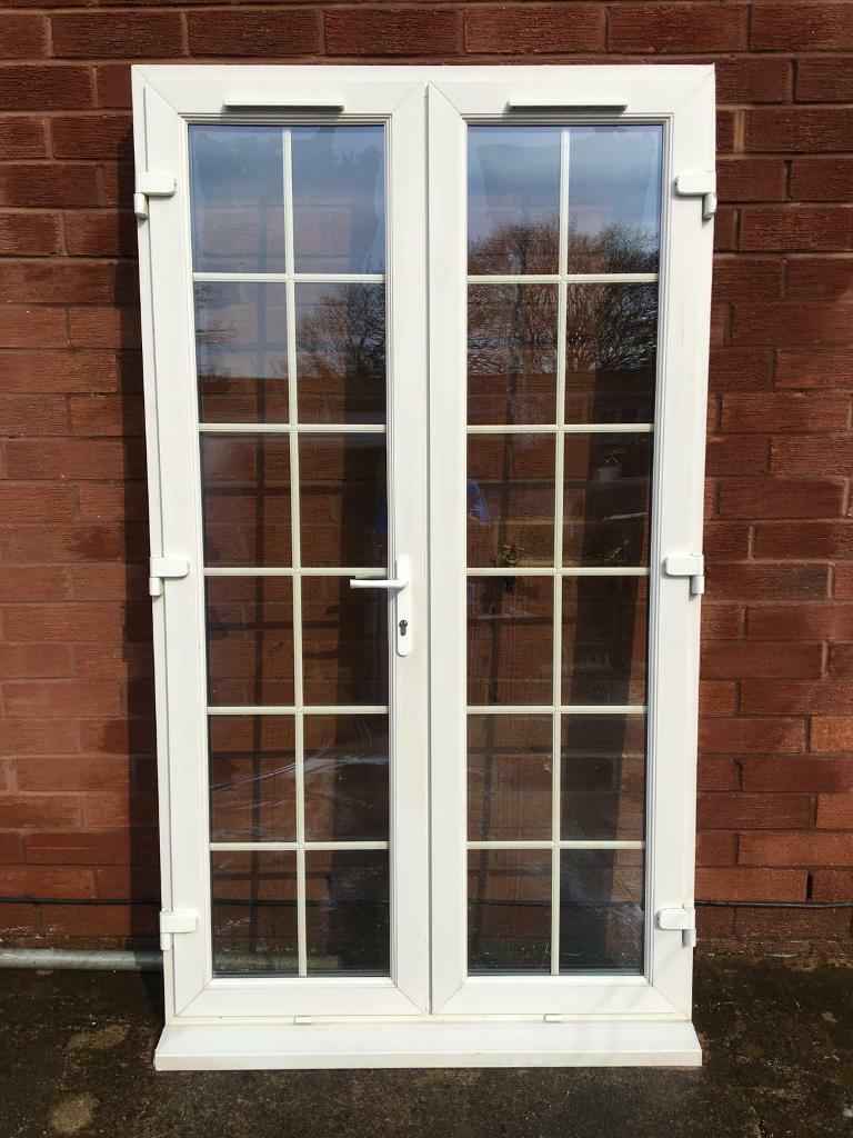 huge discount 3567b 4dd86 UPVC WHITE FRENCH DOORS WITH GEORGIAN BAR | in Thornaby, County Durham |  Gumtree