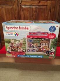 Sylvanian Games and souvenir shop