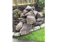 Rockery Stones, free for collection from Currie