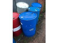 Waste oil drums/ incinerator/ wood burner/ barbecue/ storage
