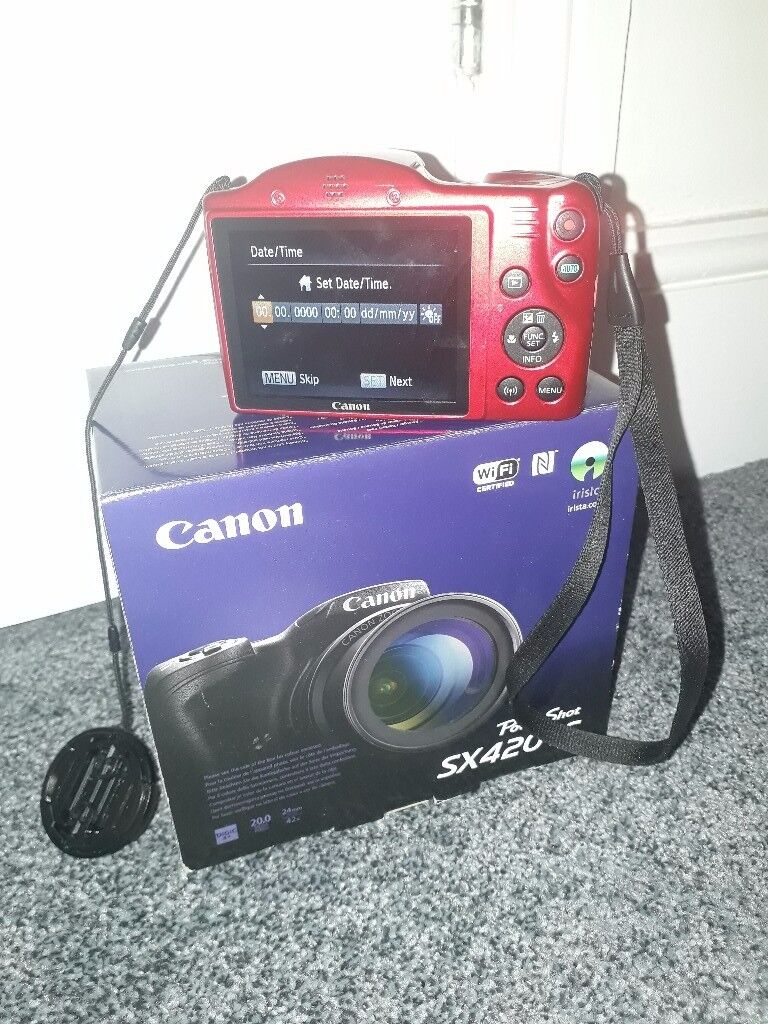 Canon Powershot SX420 IS 20Megapixel (Red)