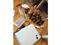 Nail gel polish uv lamp kit the edge gellux