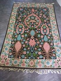 Vintage persian rug-hand knotted for sale £130