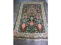 Vintage persian rug-hand knotted for sale £120