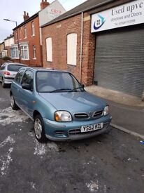 Nissan Micra S in good condition
