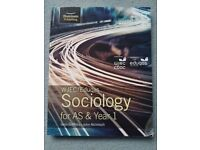 WJEC AS sociology textbook Griffiths and McIntosh